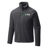 Columbia Full Zip Charcoal Fleece Jacket-FH Shield