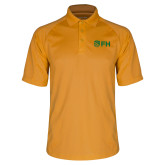 Gold Dri Mesh Pro Polo-FH Shield