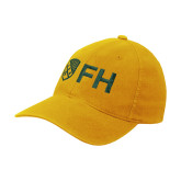 Gold Flexfit Mid Profile Hat-FH Shield