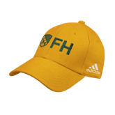 Adidas Gold Structured Adjustable Hat-FH Shield