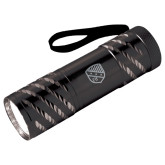 Astro Black Flashlight-Shield  Engraved