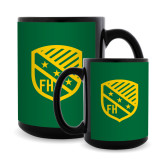 Full Color Black Mug 15oz-Shield