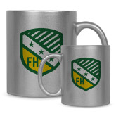 Full Color Silver Metallic Mug 11oz-Shield
