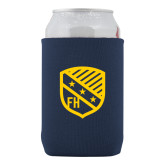Collapsible Navy Can Holder-Shield