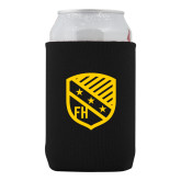 Neoprene Black Can Holder-Shield