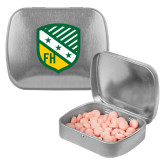 Silver Rectangular Peppermint Tin-Shield