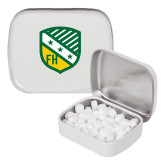 White Rectangular Peppermint Tin-Shield