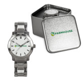 Mens Stainless Steel Fashion Watch-Farmhouse Shield