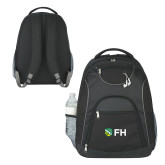 The Ultimate Black Computer Backpack-FH Shield