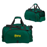 Challenger Team Dark Green Sport Bag-FH Shield