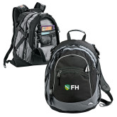 High Sierra Black Titan Day Pack-FH Shield