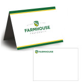 Personalized Folded Bid Card 7 x 5 w/Logo Envelope-