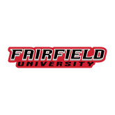 Medium Decal-Fairfield University Stacked, 8 inches wide