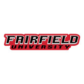 Large Decal-Fairfield University Stacked, 12 inches wide