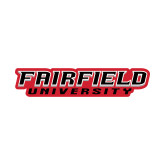 Small Decal-Fairfield University Stacked, 6 inches wide