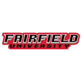 Extra Large Decal-Fairfield University Stacked, 18 inches wide