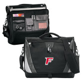 Slope Compu Black/Grey Messenger Bag-Official Logo