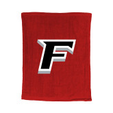 Red Rally Towel-F