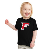 Toddler Black T Shirt-Official Logo