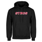 Black Fleece Hood-Stags