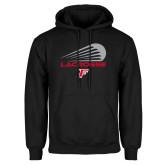 Black Fleece Hoodie-Lacrosse Modern