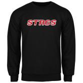Black Fleece Crew-Stags