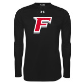 Under Armour Black Long Sleeve Tech Tee-F