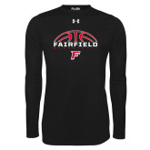Under Armour Black Long Sleeve Tech Tee-Basketball Half Ball