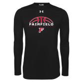 Under Armour Black Long Sleeve Tech Tee-Basketball Half Ball