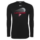 Under Armour Black Long Sleeve Tech Tee-Lacrosse Modern