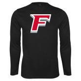 Performance Black Longsleeve Shirt-F