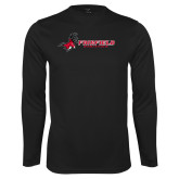 Performance Black Longsleeve Shirt-Athletics