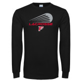 Black Long Sleeve TShirt-Lacrosse Modern