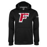 Under Armour Black Performance Sweats Team Hoodie-F