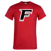 Red T Shirt-F Distressed