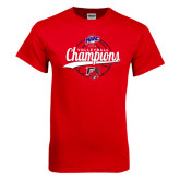 Red T Shirt-2016 MAAC Volleyball Champions