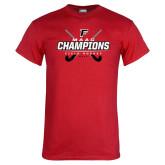 Red T Shirt-2017 Field Hockey Champions