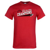 Red T Shirt-2017 Volleyball Champions
