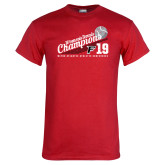 Red T Shirt-2019 Womens Tennis Conference Champions