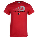 Red T Shirt-Lacrosse Modern