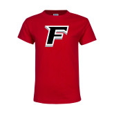 Youth Red T Shirt-F