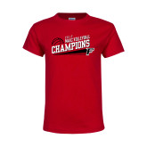 Youth Red T Shirt-2017 Volleyball Champions