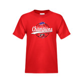 Youth Red T Shirt-2016 MAAC Volleyball Champions