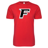 Next Level SoftStyle Red T Shirt-F
