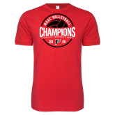 Next Level SoftStyle Red T Shirt-2019 Volleyball Champions