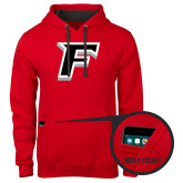 Contemporary Sofspun Red Hoodie-F