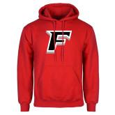 Red Fleece Hoodie-F