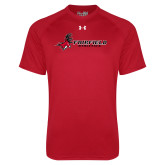 Under Armour Red Tech Tee-Athletics