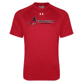 Under Armour Red Tech Tee-Lacrosse