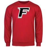 Red Fleece Crew-F